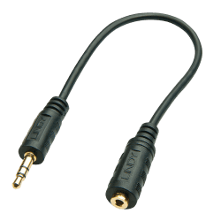 3.5mm Male to 2.5mm Female Audio Adapter