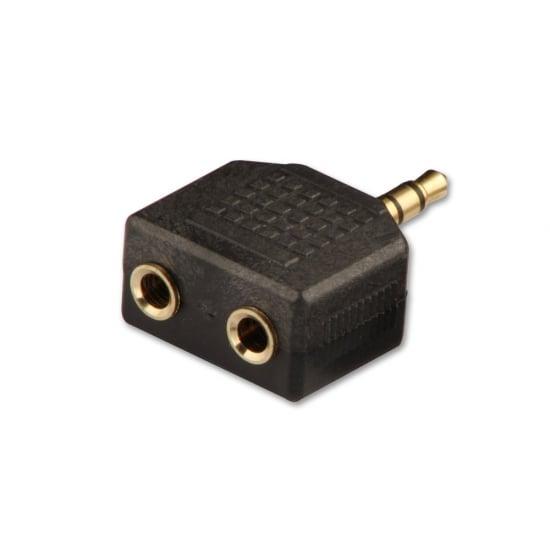 3.5mm Stereo Headphone Splitter Adapter