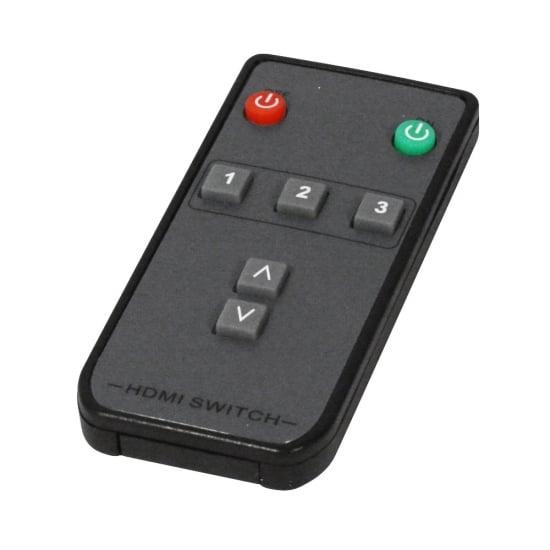 3 Port HDMI 2.0 18G Switch