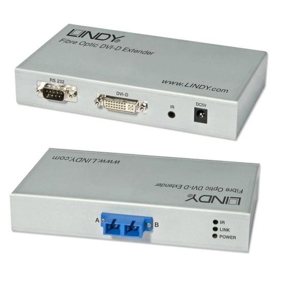 300m Fibre Optic DVI-D Extender