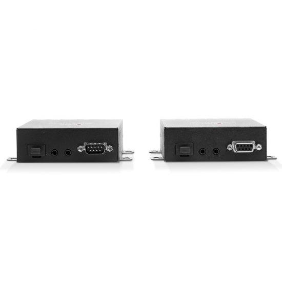 300m Fibre Optic HDMI 18G & USB KVM Extender
