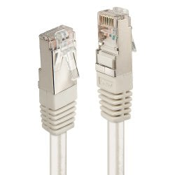 30m CAT6 F/UTP Solid Patch Cable, Grey