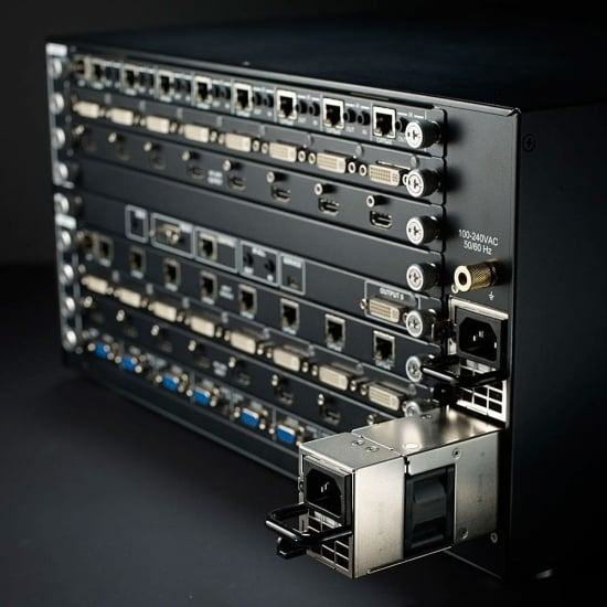 32x32 Modular Matrix Switch Chassis