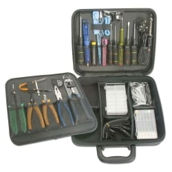 34 Piece Premium Technicians Tool Kit