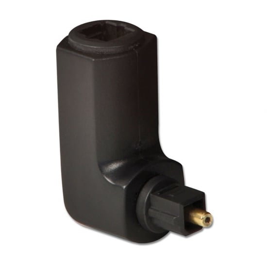 360 Degree Toslink Adapter Right Angled Male/Female