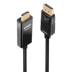 3m Active DisplayPort to HDMI Cable with HDR