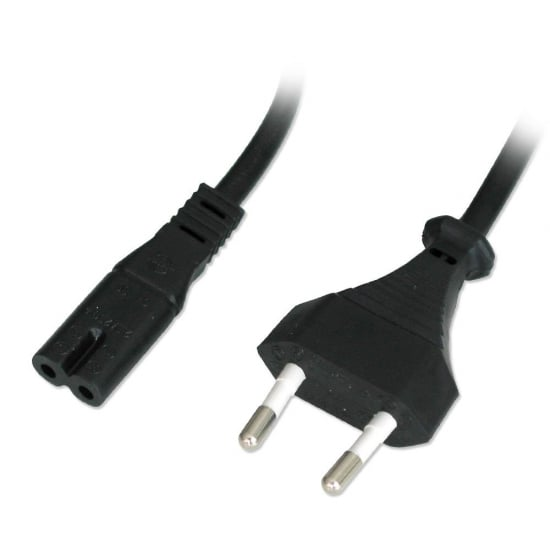 3m Euro Mains Cable