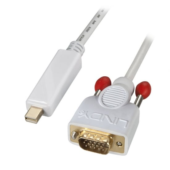 3m Mini DisplayPort to VGA Active Adapter Cable, White