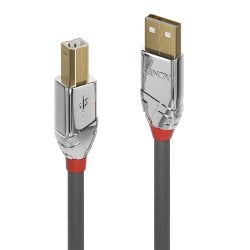 3m USB 2.0 Type A to B Cable, Cromo Line