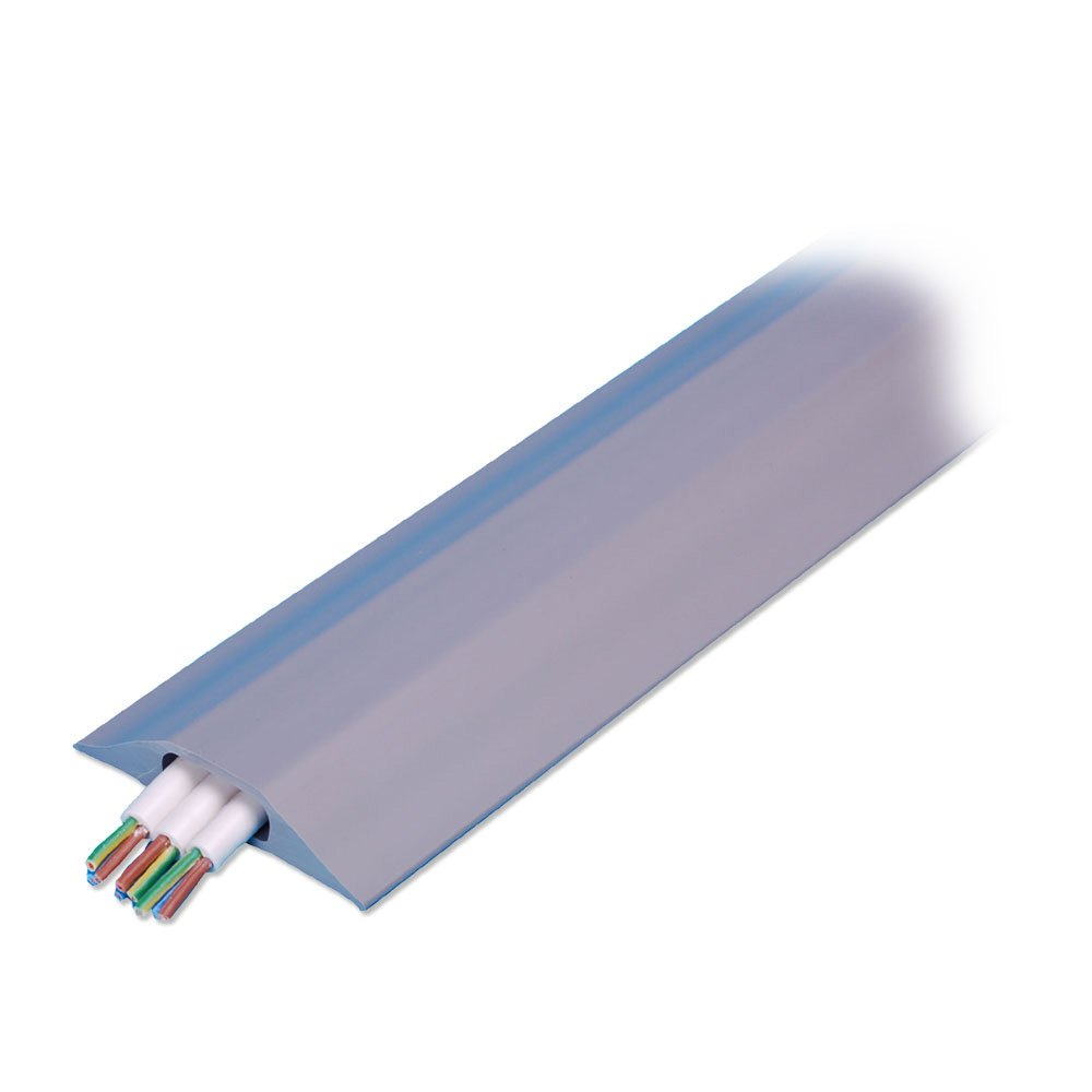 Wire Channels | 3m Wide Channel Cable Protector Bridge Grey From Lindy Uk