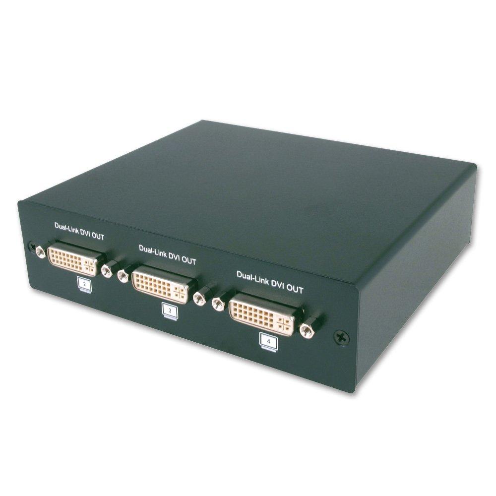 Digital Cable Splitter 12 Port : Port dvi d dual link video splitter from lindy uk