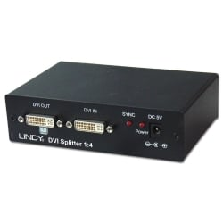 4 Port DVI Video Splitter
