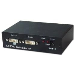 4 Port DVI Video Splitter