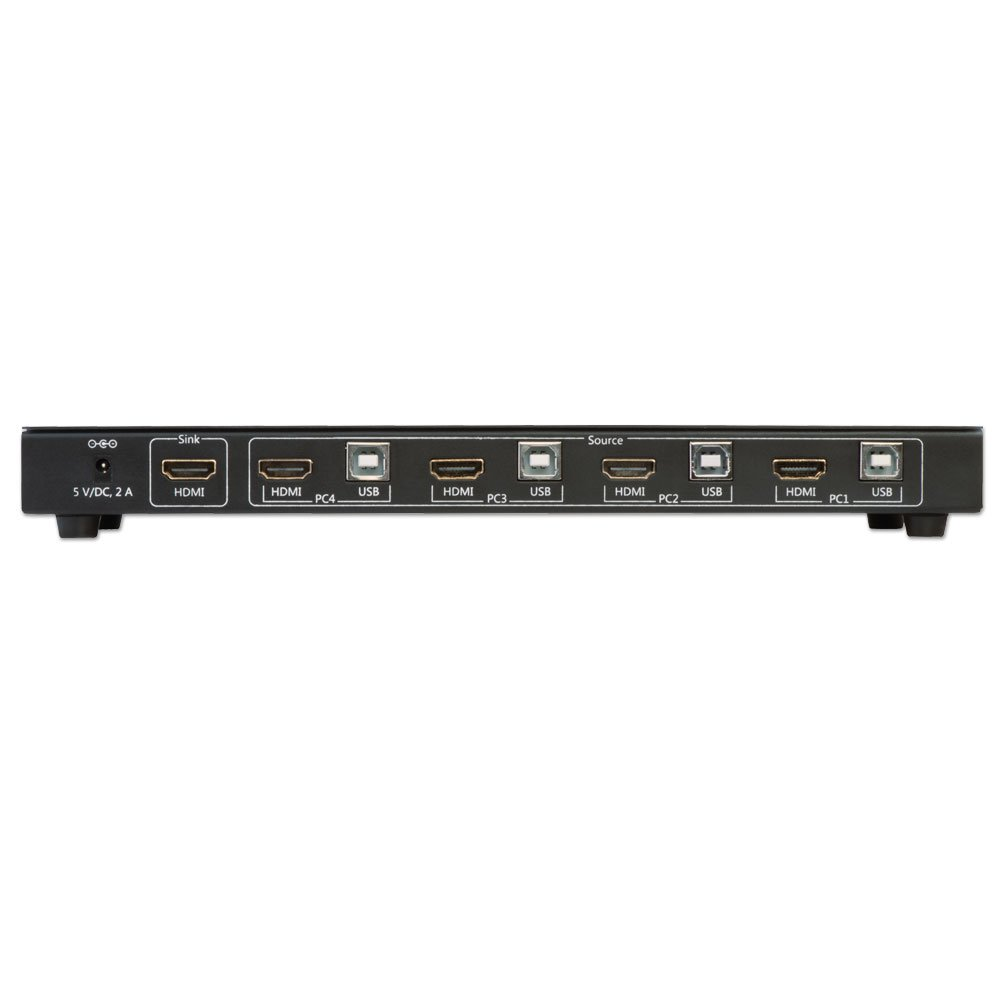 4 Port Kvm Switch Hdmi Usb 20 Audio From Lindy Uk Mouse Wiring Diagram Additionally Micro Otg Cable On