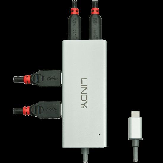 4 Port USB 3.1 Type C Hub