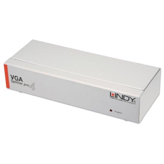 4 Port VGA Splitter Pro 450MHz