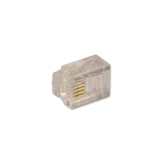 4 Way RJ-11 Male Connector