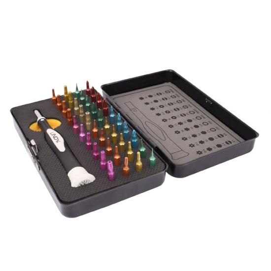 40 Piece Colour Coded Precision Screwdriver & Torx Set