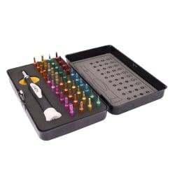40 Piece Colour Coded Precision Screwdriver & Torx Set