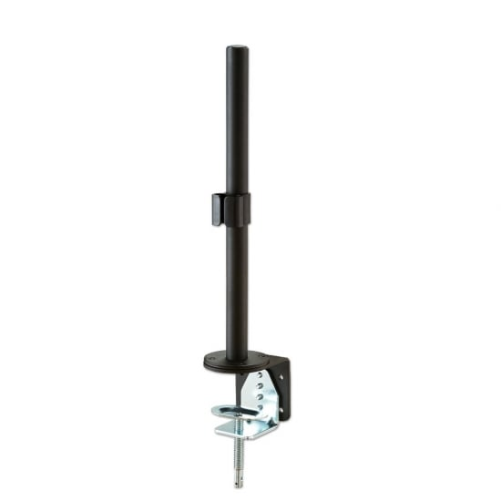 400mm Pole with Desk Clamp, Black