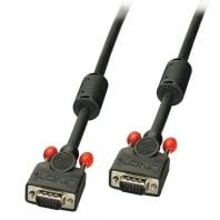40m Premium SVGA Monitor Cable, Black