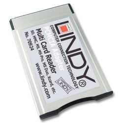 46-in-1 PCMCIA Card Reader
