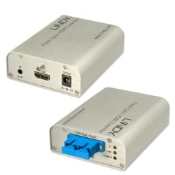 4K Ultra HD HDMI Fibre Optic Extender, 300m