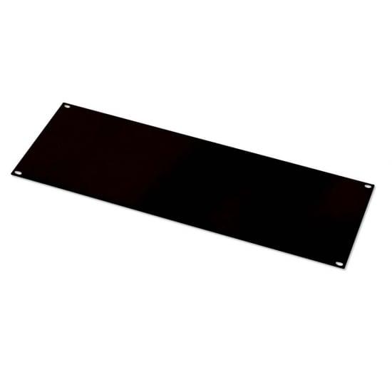 4U Blank Panel, Black