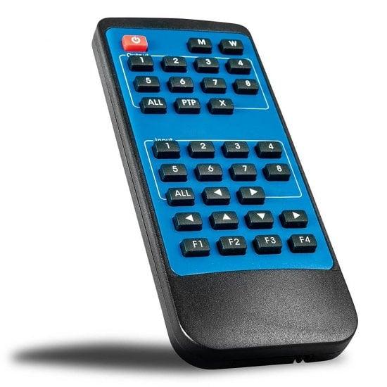 4x4 HDMI 18G Matrix Switch with Audio