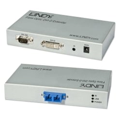 5000m Fibre Optic DVI-D Single Link, RS232 & IR Extender