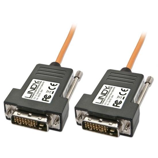 50m DVI-D Single Link Fibre Optic Hybrid Cable