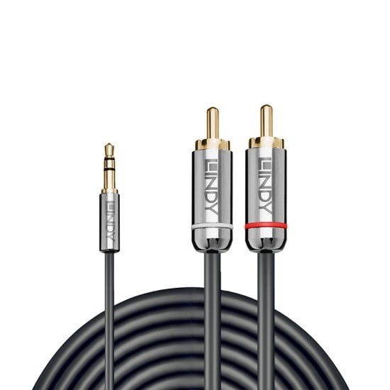5m 3.5mm to Phono Audio Cable, Cromo Line