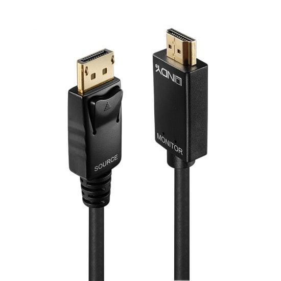5m Active DisplayPort To 4K HDMI Adapter Cable