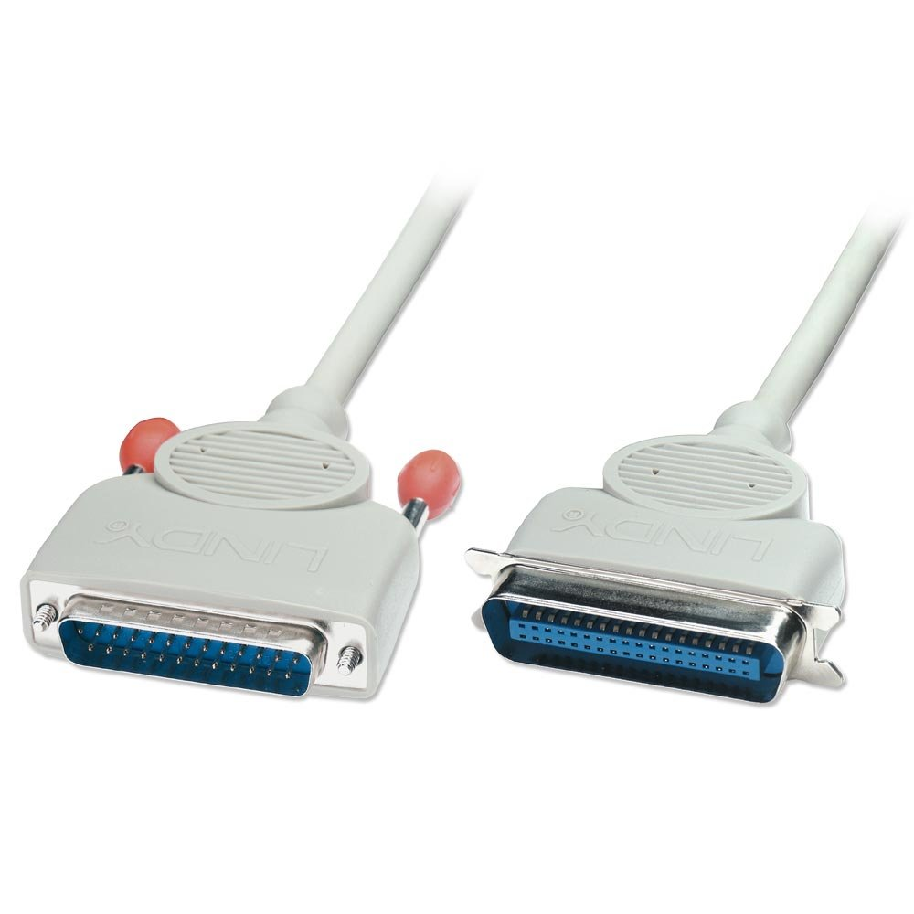 5m Bi-Directional PC Parallel Printer Cable (25DM/36CM