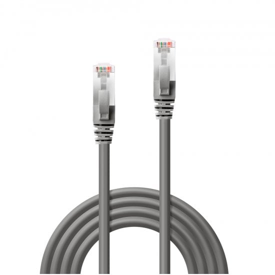 5m CROMO Cat.6 S/FTP Network Cable, Grey