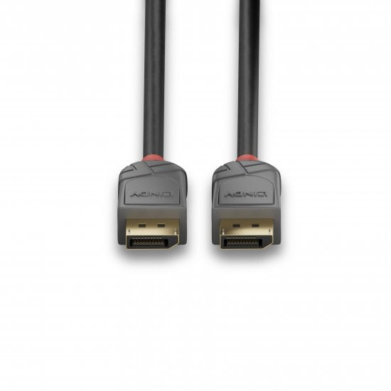 5m DisplayPort 1.2 Cable, Anthra Line