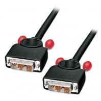 5m DVI-I Cable, Single Link, Black