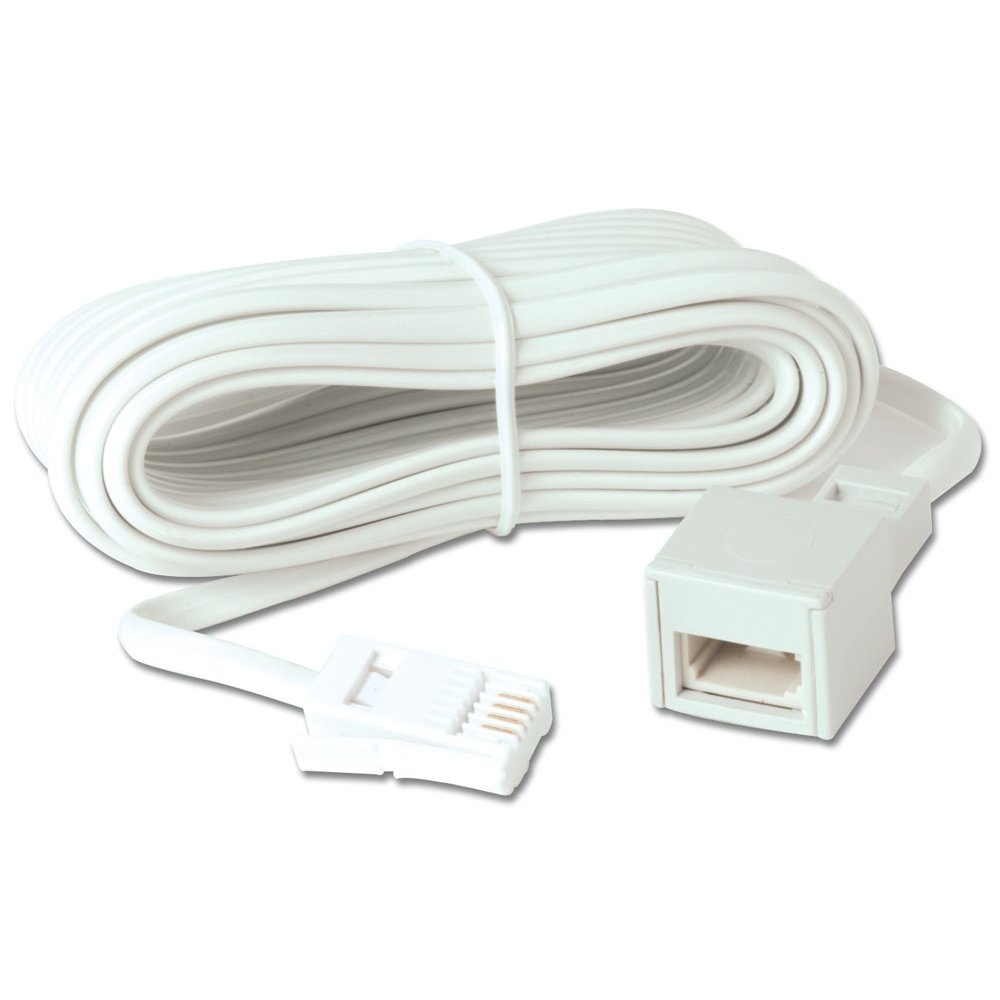 Telephone Extension Leads : M telephone extension cable from lindy uk
