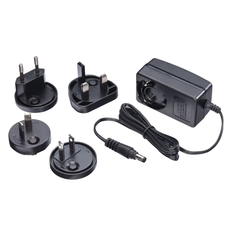 5VDC 2.6A Multi-country Power Supply, 5.5/2.1mm