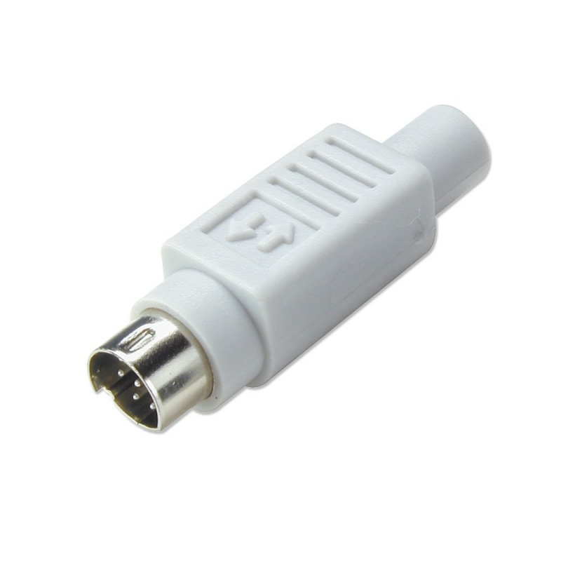 6 Pin Mini Din Male Connector From Lindy Uk