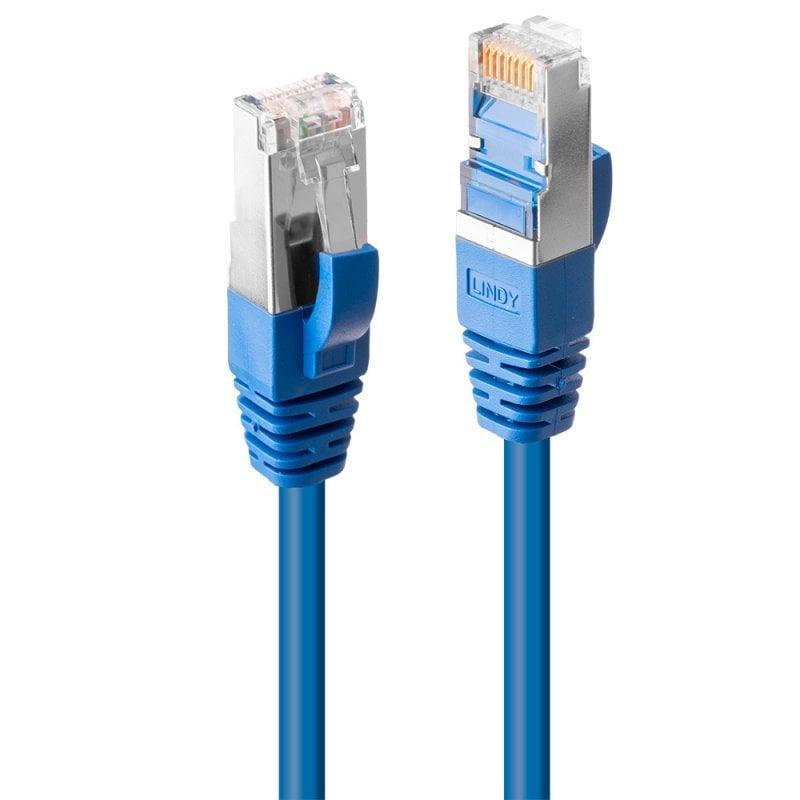 7.5m Cat.6 S/FTP LSZH Network Cable, Blue