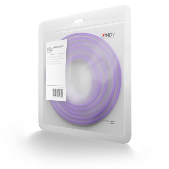 7.5m Cat.6 S/FTP Network Cable, Purple