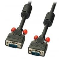 7.5m  Premium VGA Monitor Cable, Black