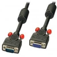 7.5m Premium VGA Monitor Extension Cable, Black