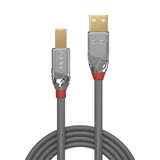 7.5m USB 2.0 Type A to B Cable, Cromo Line