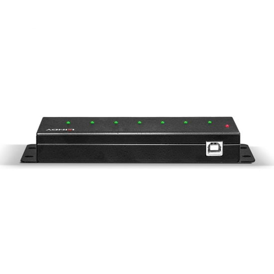 7 Port USB 2.0 Metal Hub