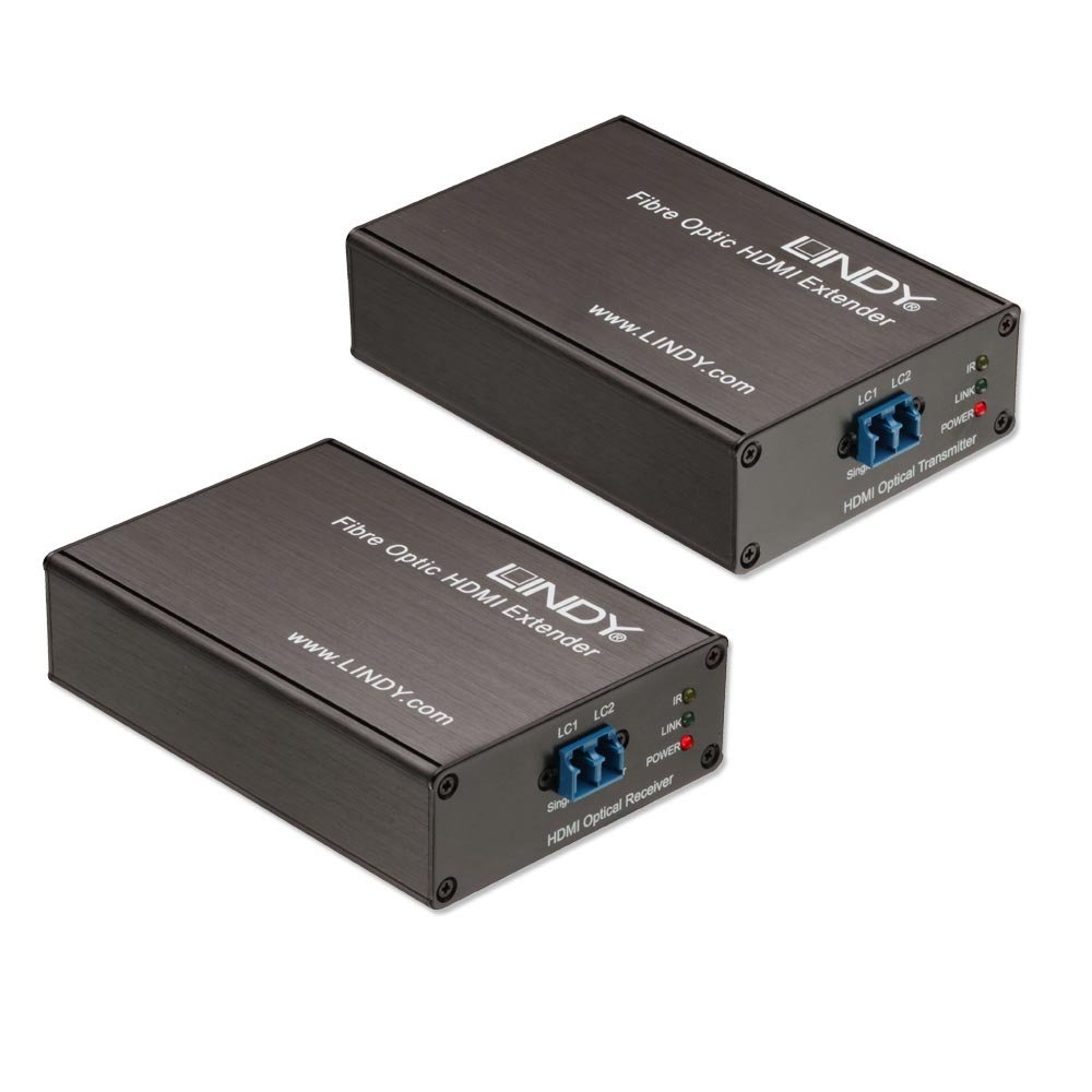 700m 3000m Fibre Optic Hdmi 20 102g Extender From Lindy Uk Fiber Cable With Audio Transmission Electronic Circuits