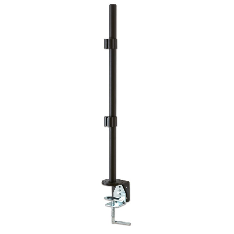 700mm Pole with Desk Clamp, Black
