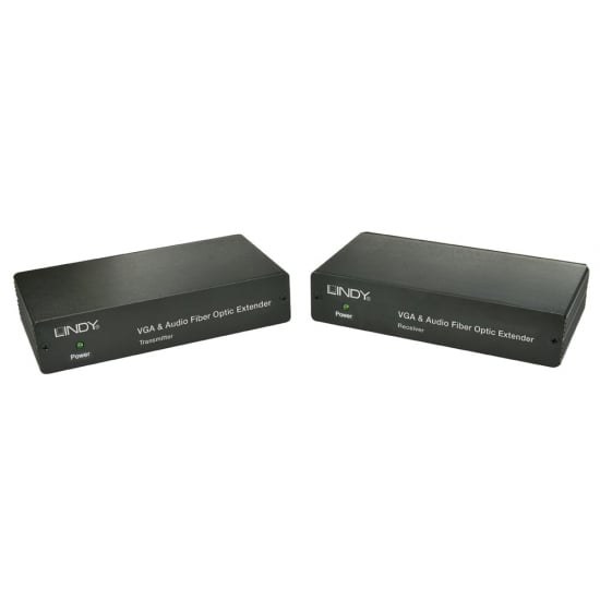 750m Fibre Optic VGA & Audio Extender