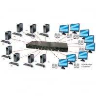 8 Port VGA & Audio Matrix